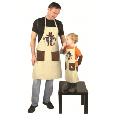 Izzy Brand Matching Grill Aprons