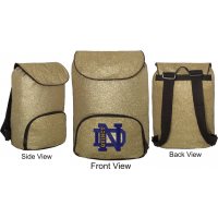 Glitter Backpack with QND Logo