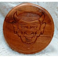 Dream Big QHS Wooden Coaster