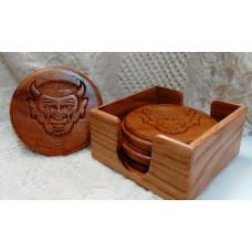 Dream Big QHS Wooden Coasters (Set of 4)