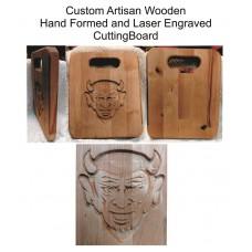 Dream Big QHS Wooden Cutting Board