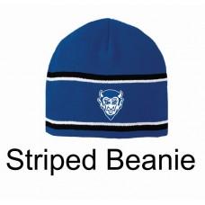 Dream Big QHS Striped Beanie
