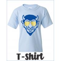 Dream Big QHS Blue Devil with Aviator Sunglasses