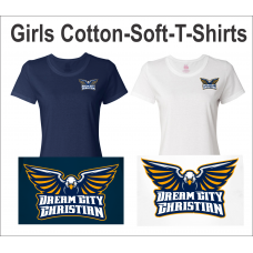 Dream City Christian Girls Cotton T-Shirt