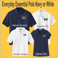 Dream City Christian Everyday Essentials Polo Navy or White