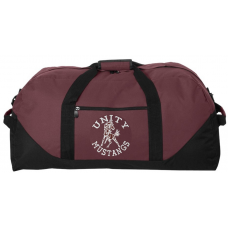Large Duffle Bag with Unity Mustangs Logo