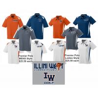 Illini West Premier Polo Shirt