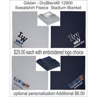 Illini West Golf Gildan DryBlend Stadium Blanket