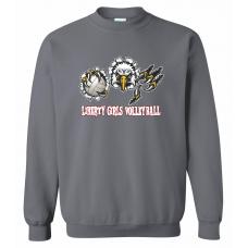 Liberty Girls Crew Neck Sweatshirt