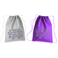 2020 Little People's Golf Championships Drawstring Backpack