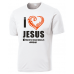 March for Jesus Unisex Performance Wicking Crew Neck T-Shirt