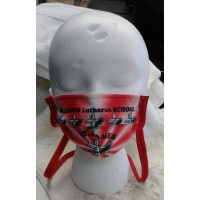 Protective Mask with St. James Lutheran School Design
