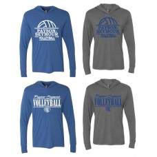 Payson Seymour Volleyball Hooded Long-Sleeve T-Shirt