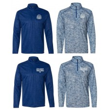 Payson Seymour Volleyball Unisex Marbled Quarter-Zip Pullover