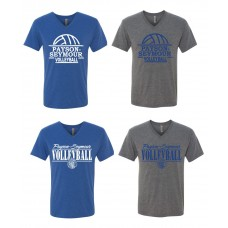Payson Seymour Volleyball V-Neck T-Shirt