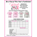 Pink Pass It On Fundraiser Official T-Shirt