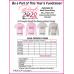 Pink Pass It On Fundraiser Official T-Shirt