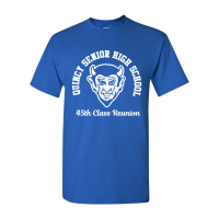 QHS Class of '73 Reunion T-Shirt and Tank Top
