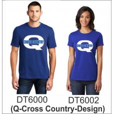 QHS/QJHS Cross Country 100% Cotton T-Shirt