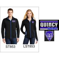 QHS Spirit Wear Full Zip Jacket