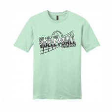 2019 QHS Early Bird Volleyball Tournament T-Shirt