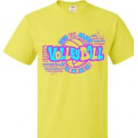2019 QJHS 7th Grade Volleyball Tournament T-Shirt