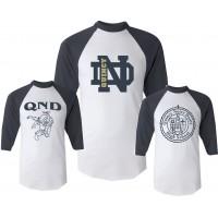 Baseball Jersey with QND Logo