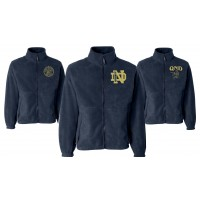 Full Zip Fleece Jacket with QND Logo
