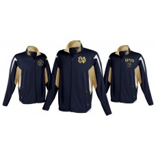 Dedication by Holloway Jacket with QND Logo