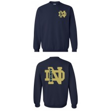QND Crew Neck Sweatshirt with Logo