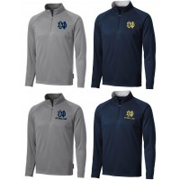 Quarter-Zip Pullover with QND Logo