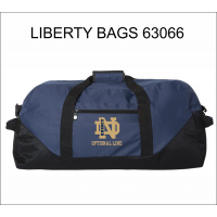 QND Large Duffle Bag with Logo