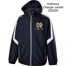 QND Charger by Holloway Jacket with Logo