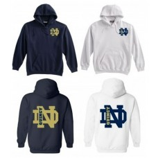 QND Pullover Hoodie with Logo
