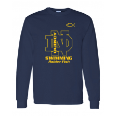 QND Swimming Cotton Long Sleeve T-Shirt