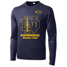 QND Swimming Performance Long Sleeve T-Shirt