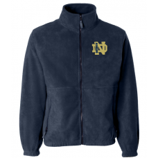 QND Full Zip Fleece Jacket with Logo