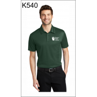 Quincy Public Library Performance Polo Shirt