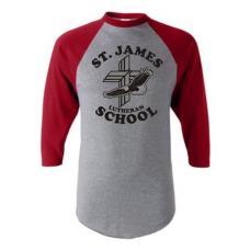 St. James Lutheran School Baseball Shirt