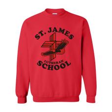 St. James Lutheran School Crew Neck Sweatshirt