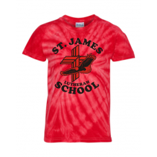St. James Lutheran School Tie-Dye T-Shirt