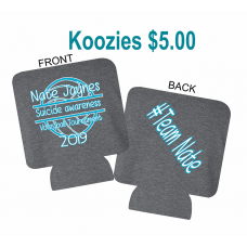 Team Nate Koozie