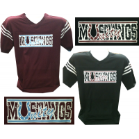 Unity Short Sleeve Jersey with Mustangs Logo