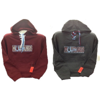 Pullover Hoodie with Collegiate-Style Laces and Unity Mustangs Logo