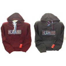 Unity Pullover Hoodie with Collegiate-Style Laces and Mustangs Logo