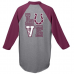 """Unity Baseball Jersey with """"Mustangs LUVE"""" Slogan and Chevrons"""